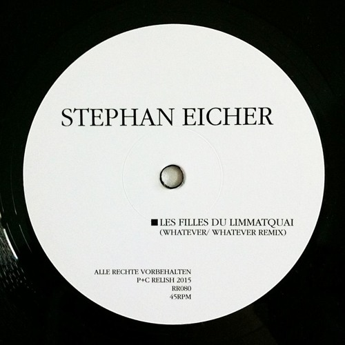 Stephan Eicher – Les Filles Du Limmatquai (Whatever/Whatever Remix)