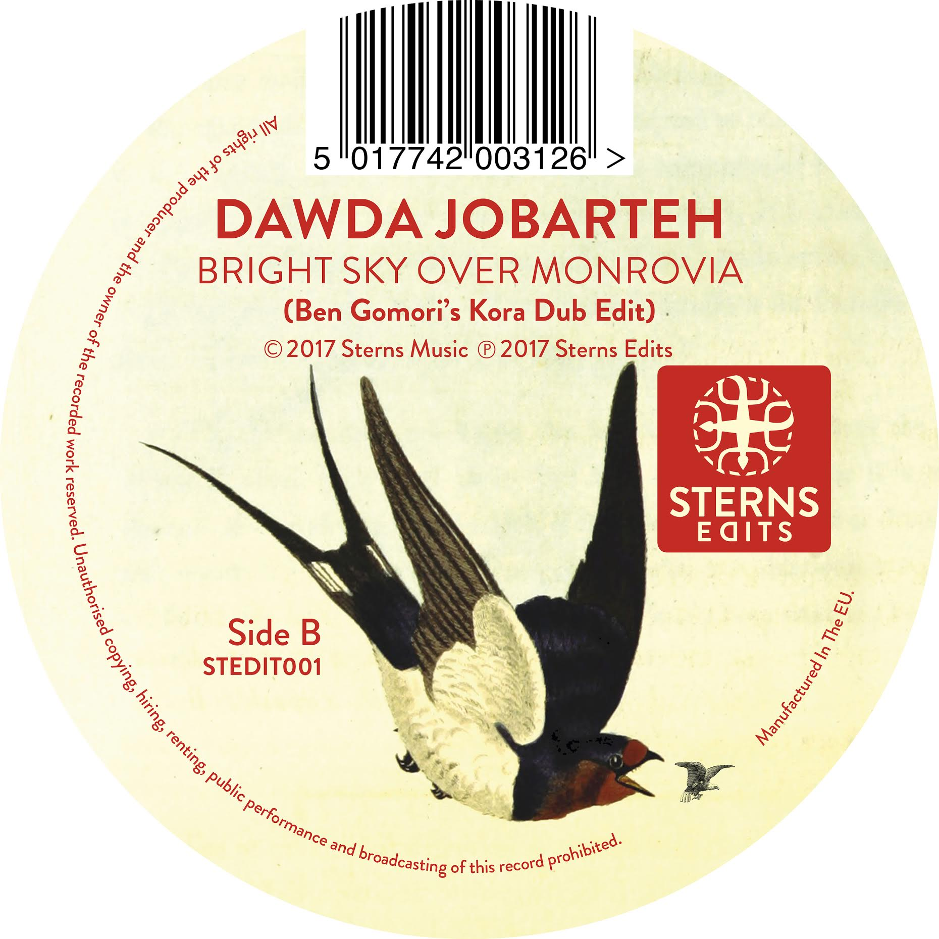 PREMIERE – Dawda Jobarteh – Bright Sky Over Monrovia (Ben Gomori's Kora Edit)
