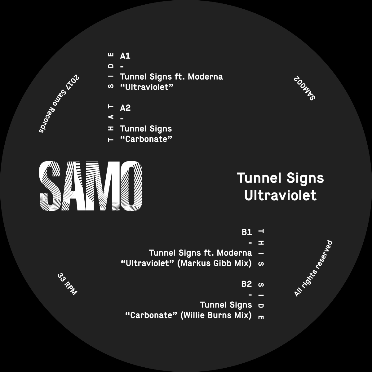 PREMIERE – Tunnel Signs Ft Moderna – Ultraviolet (Facets Mix) (Samo Records)