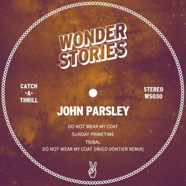 John Parsley Do Not Wear My Coat EP