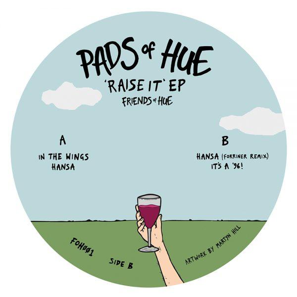 Pads Of Hue Raise It EP Side B 1000x1000