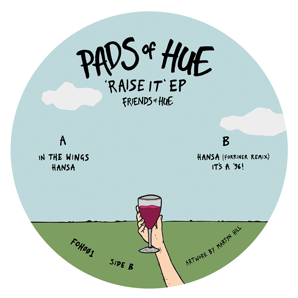 Pads Of Hue Raise It EP Side B 1000x1000