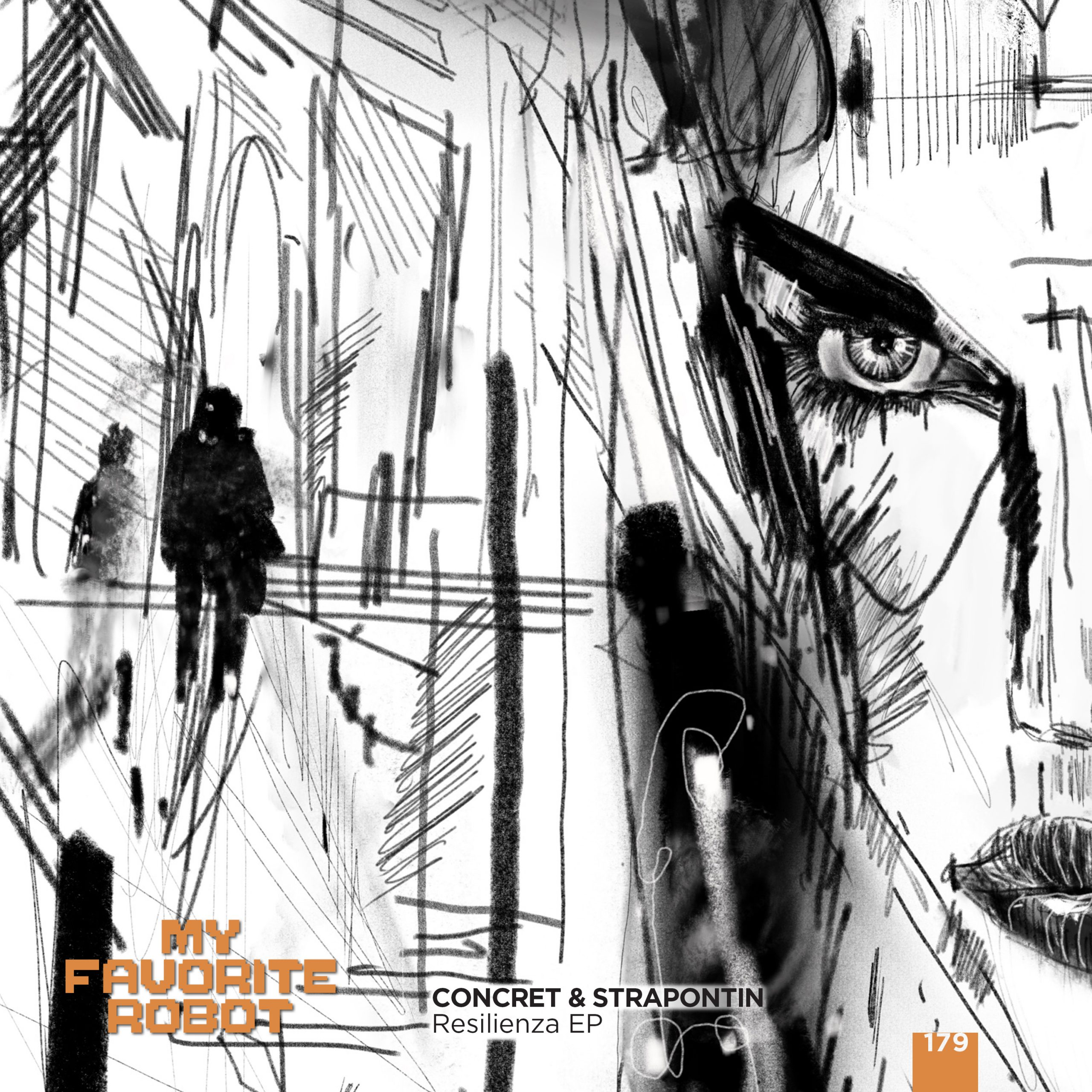 PREMIERE – Concret & Strapontin – Resilienza (My Favorite Robot Records)