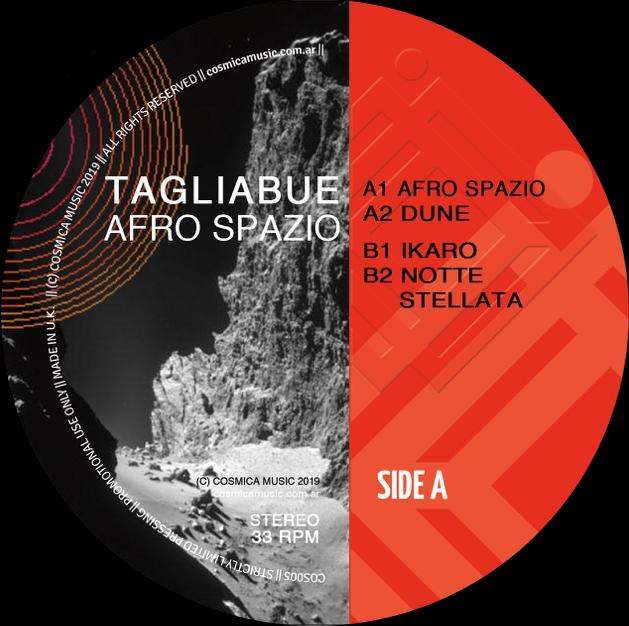 TAGLIABUE AFRO SPAZIO cover