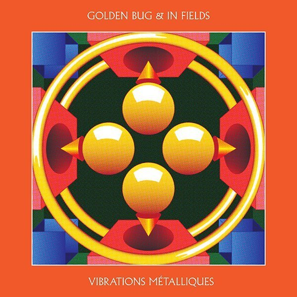 golden bug in fields vibrations metalliques digital artwork 600 600