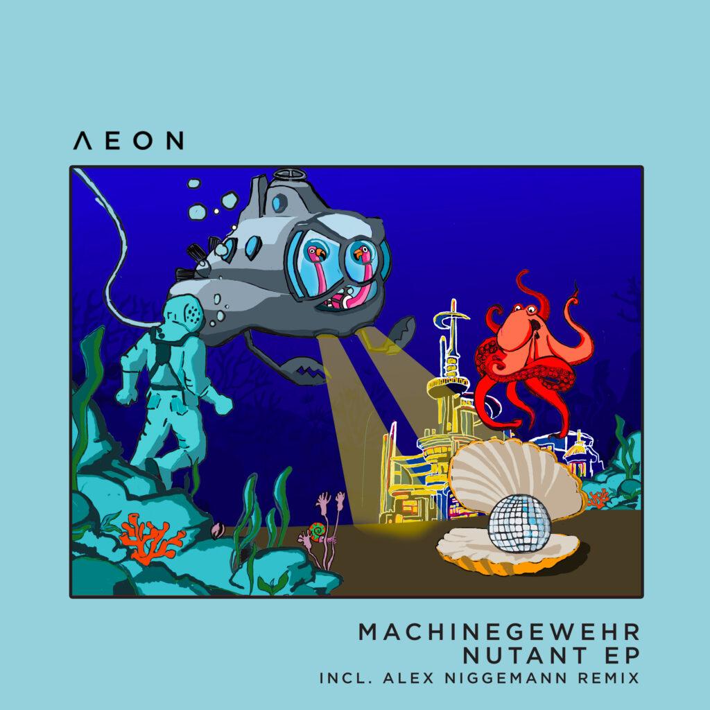 AEON054 Machinegewehr Nutant EP Incl Alex Niggemann Remix EP cover