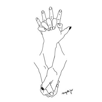 handsupdownuntildawn vector